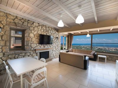Photo for One bedroom house with amazing panoramic sea and city view