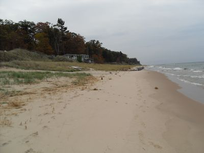 Beach view looking South