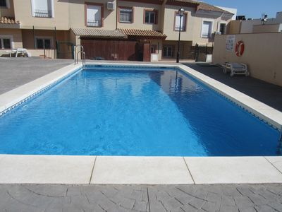 Photo for Modern House For 6, With A/c, Broadband Wifi, Large Pool, UK TV, 3 Bathrooms.