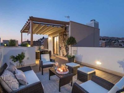 Photo for Plaza Nueva Penthouse + Roof Terrace