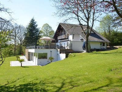 Photo for Stately Chalet in Stoumont with Pool & Sauna