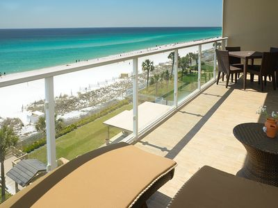 Photo for LOOK AND THEN DECIDE: Exceptional Renovated beachfront: W/Beach Service