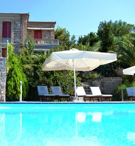 Photo for Private Villa amazing pool and sea views minute from Beach great for families