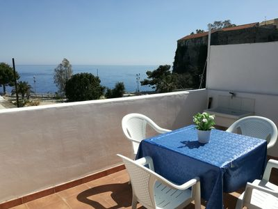 Photo for Sea view house in the historic center of the island of Lipari