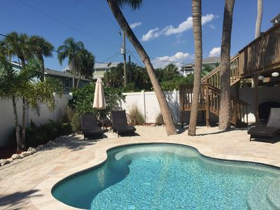 Photo for Close To The Beach And Restaurants With Private Heated Pool!