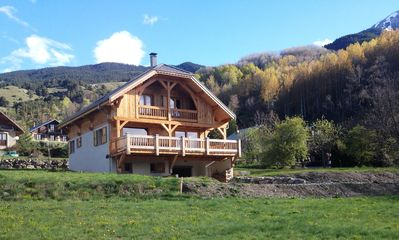 Photo for Serre Chevalier - SAINT-CHAFFREY Beautiful Chalet 10-12 200 sqm