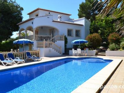 Photo for Villa rental in Javea near the Montgo with private pool