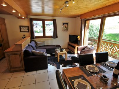 Photo for 2BR Apartment Vacation Rental in Morzine, Auvergne-Rhône-Alpes