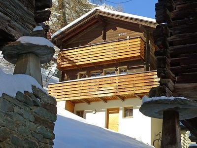 Photo for House in the center of Zermatt with Internet, Washing machine, Balcony (49571)