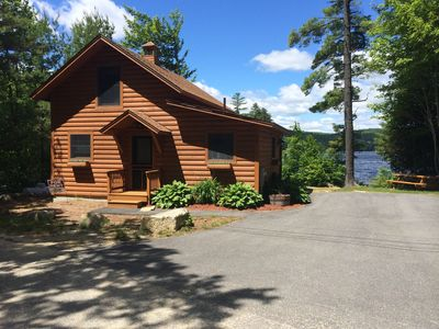 Photo for Sandy Waterfront Cabin on Howard Pond