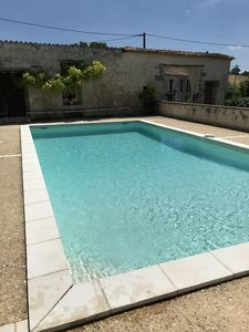 Photo for Lovely Apartment with private garden near Aubeterre,/Dog Friendly