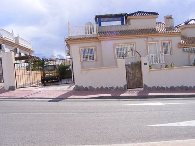 Photo for Modern, 2 bedroomed villa with solarium and pool