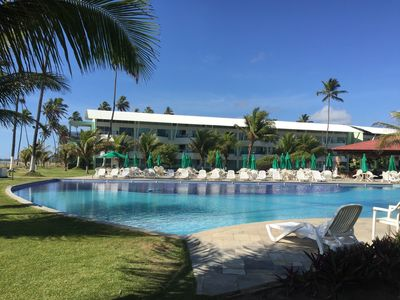 Photo for Air-conditioned flat in Porto de Galinhas at the Ancorar Flat Resort