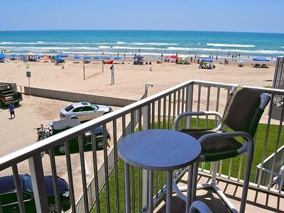 Photo for BEACH FRONT condo with amazing views of the Gulf of Mexico