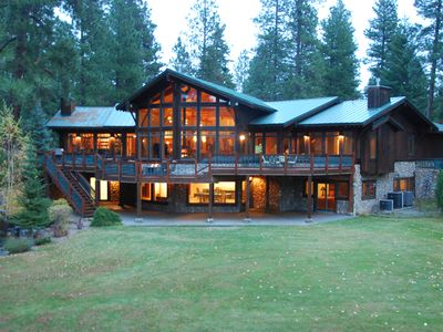 Photo for Luxury Riverfront Home Bordering Suncadia - Stunning Views - Pool and Hot Tub
