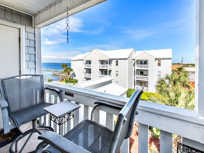 Photo for Bay Views-Okaloosa Island! Bay Pool! Fun Pass!⭐2BR Hermitage by Bay 305⭐