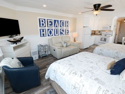 Photo for Coastal Luxury in a Beachfront Studio - NEW to VRBO SPECIAL RATES