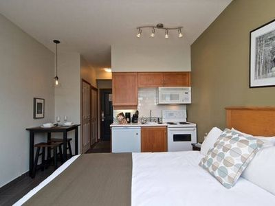 Photo for Adorable Studio in Centre of Whistler Village with Hot Tub, Pool, Gym & Sauna