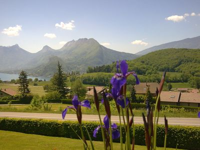 Photo for APARTMENT DOMINANT LAKE ANNECY of 47m2 for 4 people