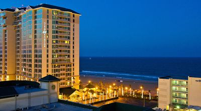 Beautiful, upscale resort on the beach and boardwalk at 34th  Avenue.