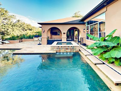Photo for Lake Travis 4BR w/ Backyard Oasis - Private Pool, Spa & Outdoor Kitchen