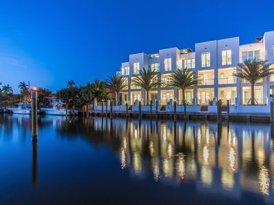 Photo for SkY230 contemporary new waterfront living - walk to beach and bars/restaurants