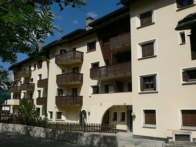 Photo for Apartment in the center of Silvaplana with Lift, Parking, Internet, Washing machine (250895)