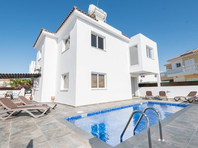 Photo for VILLA VALMARE - Beautiful  just a few minute walk to Ayia Thekla Beach