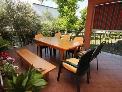 Photo for Three bedroom apartment with terrace Seline (Paklenica)