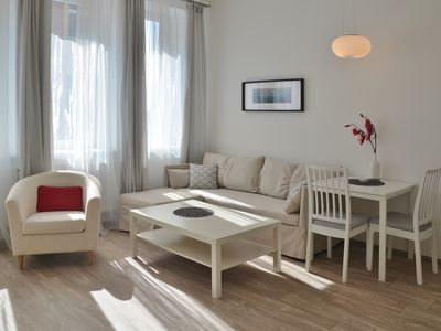 Photo for Cozy apartment in the center (1-2 guests)