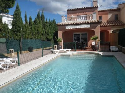 Photo for House wifi secured private pool Sandy beach at 1.6 km, 15mn Port Aventura