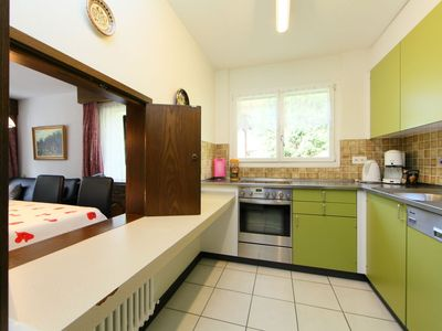 Photo for Apartment in the center of Leukerbad with Lift, Parking, Internet, Washing machine (46147)