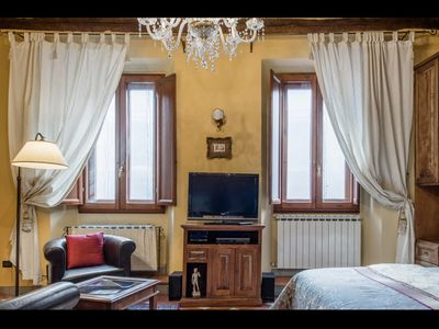 Photo for Cozy flat in the best position in the center beside train station with AC