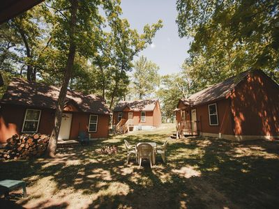 Photo for Lily Pad-Footsteps Off The River- 4 cabins available- Minutes to the Dells