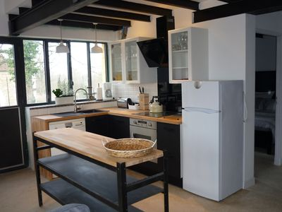 Photo for Renovated workshop for 6 people with shared, heated pool in Semur en Auxois