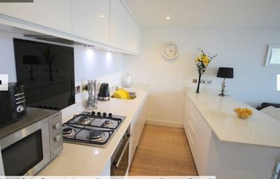Photo for CONTEMPORARY 1 BED APARTMENT NEXT TO FISTRAL BEACH, SECURE PARKING, WIFI