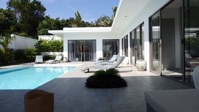 Photo for Luxurious Modern Villa With Pool And Near Beach Free WIFI