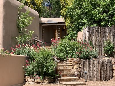 Photo for Stunning Historic Casita 5 Star Amenities and Private Garden Steps to Canyon Rd