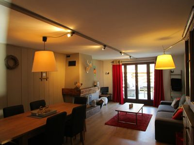Photo for 2BR Apartment Vacation Rental in Servoz
