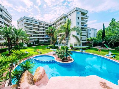 Photo for PARAISOL3 with communal pool, near the beach
