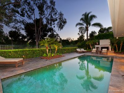 Photo for Spacious, Luxury On A Private Golf Course W/pool, Outdoor Fireplace, BBQ, Piano