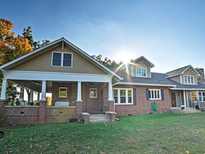 Photo for Gorgeous Cleveland House on 1.5 Acres w/ Porch!
