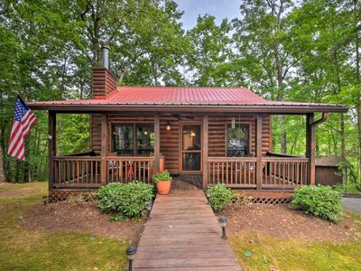 Photo for NEW! Blue Ridge Cabin w/Private Hot Tub & Fire Pit