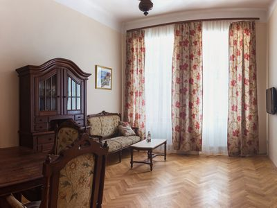 Photo for Stylish XIX century apartment with organic local breakfast