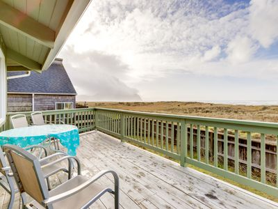 Photo for NEW LISTING! Oceanfront octagon-shaped house with panoramic views