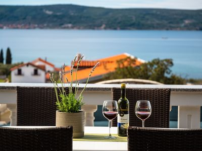 Photo for House With Large Terrace and Amazing Sea View - Adriatic Luxury Villas