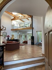 Photo for Gordes house, independent, stone, with swimming pool