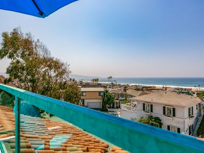 Photo for Ocean View Beach Home in Hermosa Beach, 5 min walk to The Strand/Beach/Park