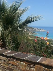 Photo for studio 2 bedrooms, 4 pers, 1sdb, large terrace, breathtaking sea mountain