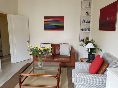 Photo for Large Bright First Floor Flat near Westfield & Olympia